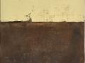 Enzo Montagna, Foto 2_ 60 x 110 x 9 tela juta (sacco di caffè originale)