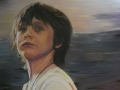M. Falsini, Fuori la stanza, tecnica mista, cm.75x100, 2011