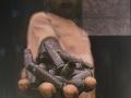 M. Falsini, Se non mio padre almeno dio, tecnica mista, cm.130x130, 2011