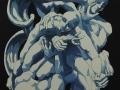 Costanza Satta, Angeli, olio su tela, cm80x100, 2014