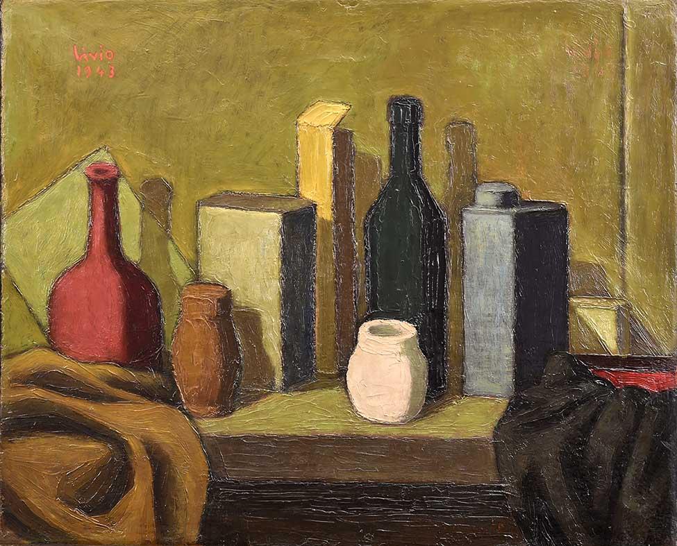 24 _DSC4294Bassa (Composizione 60,5x50 1943 olio su tela)