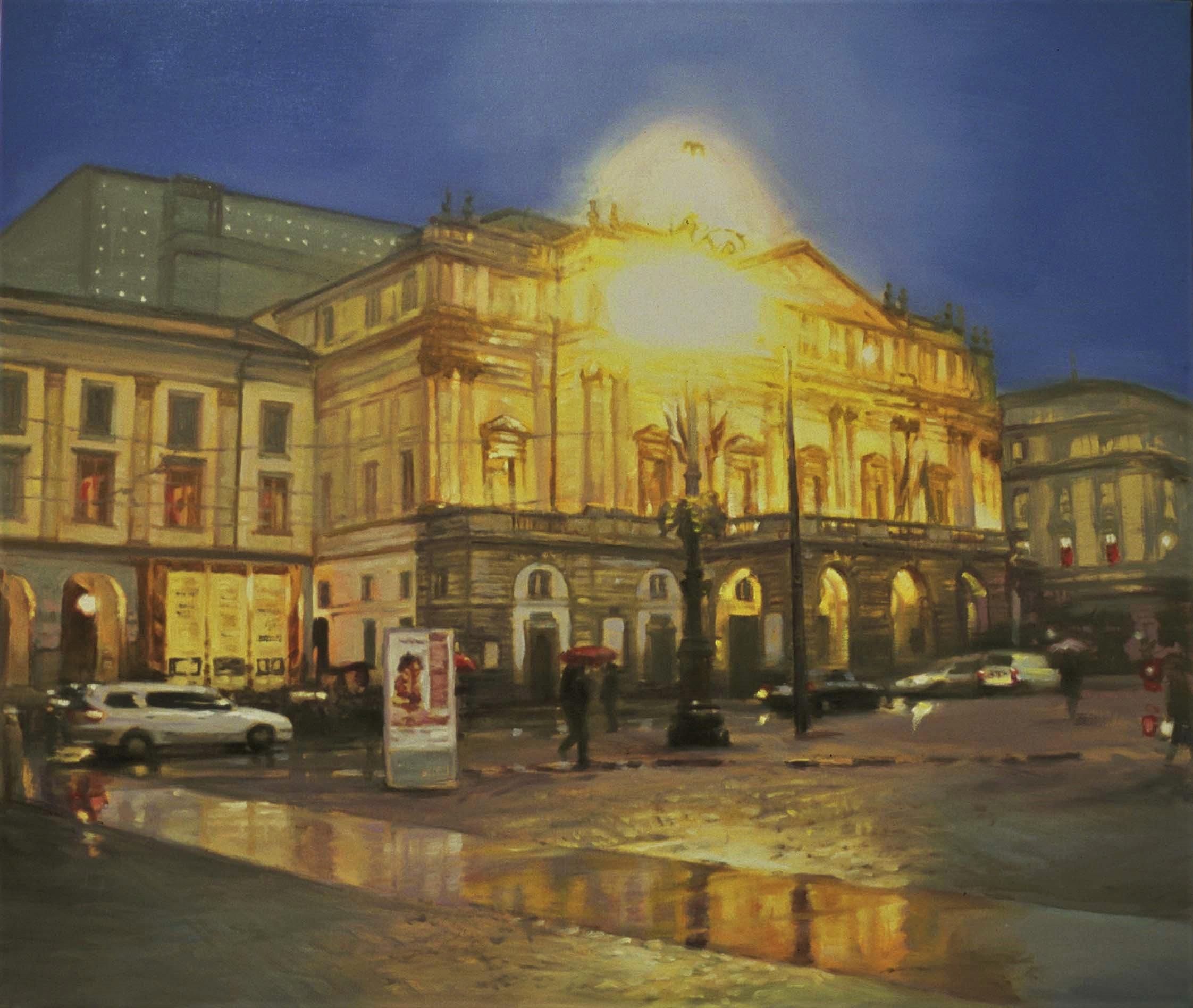 Yoon-Si-Young-Milano-Teatro-alla-Scala-olio-su-tela-70x60-2008-2