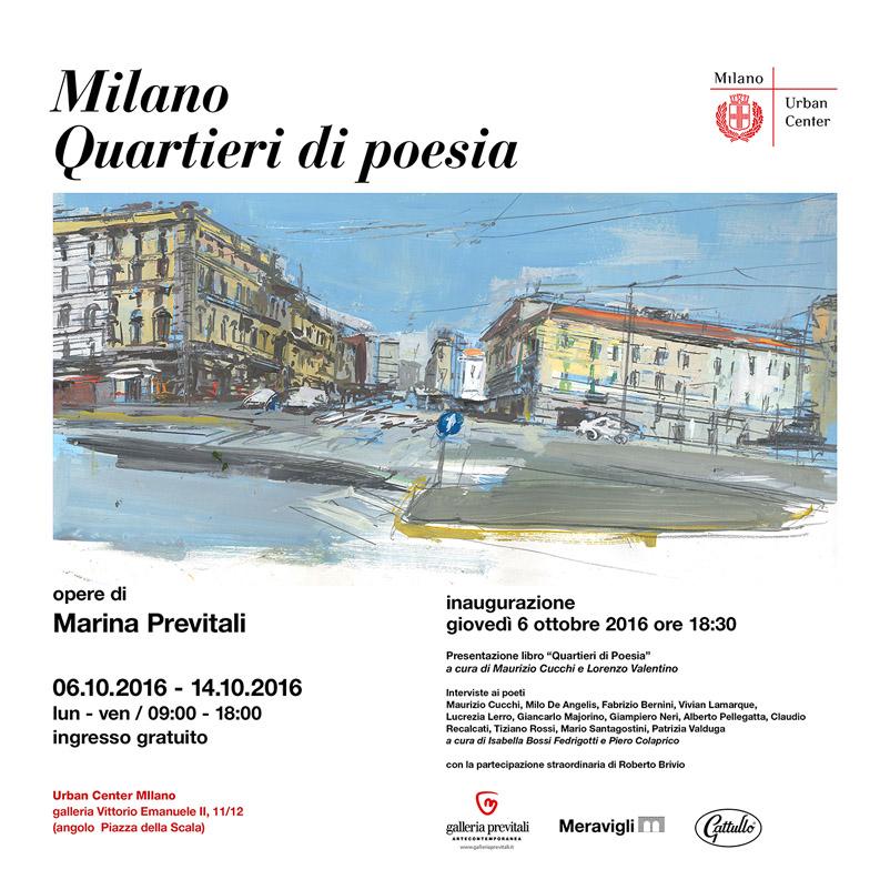 Milano.Quartieri di poesia